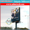 Rectangular Shape Steel Structure Outdoor Unipole Advertising Billboard