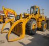 Used Wheel Loader Original Caterpillar Cat966e for Loading Log