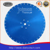 550mm Laser Diamond Low Noise Saw Blade for Stone