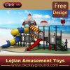 Interesting Style Kids Outdoor Plastic Playground for Park (X12189-11)