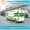 Four Wheels Food Cart for Selling Fruits with Good Design