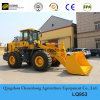 Hot Sales 5t Large Wheel Loader with Carrying Bucket Luqing Design