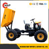 Construction Equipment 1 Ton 4WD Skip Car Mini Dumper
