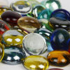 Mixed Color Decorative Glass Pebbles