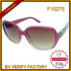 F15275 Ce FDA Wholesale PC Frame Fashion Sunglasses