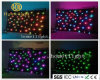 Double Fireproof DMX RGB 3in1 LED Star Curtain for Stage