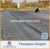 Warp Knitted Fiberglass Uniaxial Geogrid for Road Construction