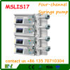 China Manufacturer Four Channel Infusion Syringe Pump Mslis17