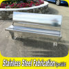 Custom Made Outdoor Stainless Steel Bench
