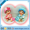 Beautiful Polyresin Baby Figurine with Lovely Cap