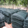 Green PVC Coated After Galvanized Hexagonal Gabion Basket