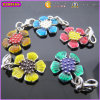 Beautiful Flower Metal Customized Pendant for Promotional Gift