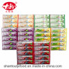 5 Flavour Kuwen Cardboard Tray Chewing Gum with Tattoo