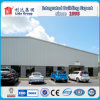 Flat Roof Steel Sandwich Panel Warehouse Building