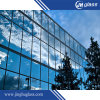 8mm Flat Dark Blue Laminated Reflective Glass for Building