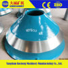 Crusher Manganese Parts Cheek Wear Bowl Liner