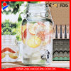 Wholesale Glass Beverage Honey Juice Dispenser with Tap