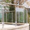 Australian Standard Apartment /Hotel Aluminum U Channel 12-18mm Tempered Glass Balcony/Deck Balustrade