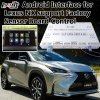 Two-in-One Android Navigation Interface for 2014-2017 Lexus Nx Support OEM Button Control
