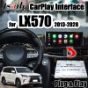 Carplay/Android Auto Interface for Lexus Lx570 2013-2020 Support Cameras, Youtue, WiFi, USB by Lsailt