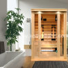 Far Infrared Sauna Room, The Dry Bath Hot Therapy Log Cabin as Health Beauty Equipment for Indoor Use