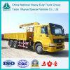 16ton Truck Mounted Lifting Crane, HOWO 6X4