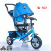 Safety Belt Baby Passenger Tricycles Frame Kids Tricycle with Canopy