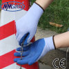 Nmsafety Crinkle Latex Palm Coated Labor Work Glove