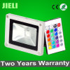 Two Years Warranty Outdoor Garden 10W RGB LED Floodlight with IR Controller
