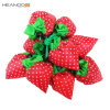 China Custom Foldable Nylon Shopping Bags with Cute Strawberry Shape