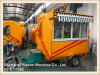 Ys-Et175c Tricycle Food Cart with Glass Sliding Window and Canopy
