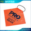 Outdoor Orange Road Sign Traffic Warning Safety Flag (B-NF37P07001)