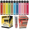 Large 850 mAh Bateria Battery Capacity Plastic Boxes Disposable Vape Pen Bang XXL UPS