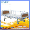 Hospital Furniture Two Crank Two Function Manual Hospital Bed