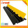 CE Pased 2 Channels Rubber Cable Cover Floor