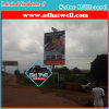 Solar Power Solution LED Lighting High-Way Outdoor Solar Advertising Billboard
