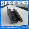 Rocky Black Anodized Aluminium Profile for Sliding Windows and Door