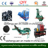 1200 Waste Tyre Cutting Equipment / Tyre Recycling Line