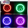RGB Halo Angel Eye 7 Inch LED Headlight for Jeep Wrangler Hummer Motorcycle