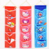 Cartoon Five Hanging Bag Closet Storage Dormitory Wall Door Hanging Bag Multilayer Hanging Type Storage Bag
