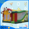 Customized 0.55mm PVC Tarpaulin Inflatable Jumping Bouncer Combo