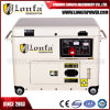 50Hz China Silent Diesel Engine 7.5kVA 6kw Portable Diesel Generator