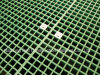 Gratings with Saddle Clips, Gritted Glassfiber Grating, Fiberglass Plastic Grating.
