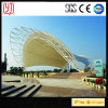 PVDF Membrane Stadium White Waterproof Durability Awning Roof Steel Structure