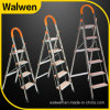 2016 Hotsale Domestic Foldable Portable Attic Ladder with Hand Rail