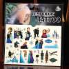 Wholesale Frozen Tattoo Sticker for Kids Cartoon Gifts