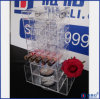 Clear Spinning Acrylic Lipstick and Powder Holder Organizer