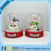 Plastic Snow Globe with Cute Snoweman