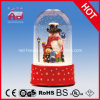 2016 Hot Sell Snowing Christmas Decoration with Transparent Case Holiday Glass Craft