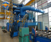 Industry Sand Blast Machine with Roller Conveyor
